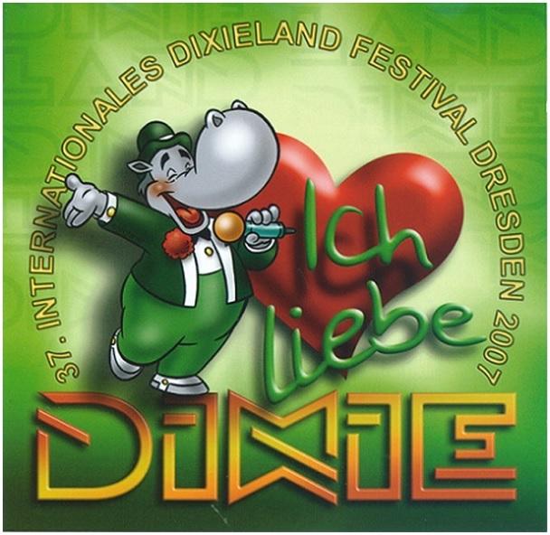 CD - DIXIE 2007 hvid kant