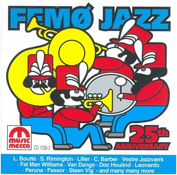 CD - Femoe  25 aar hvid kant