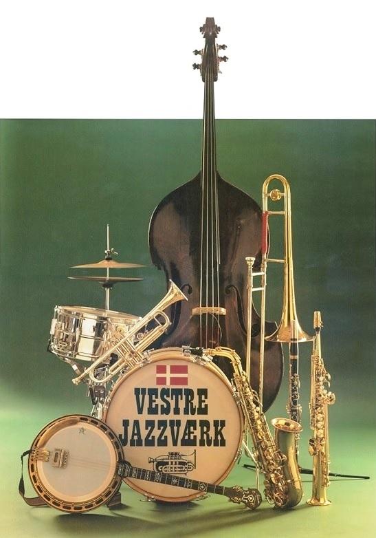 Vestre Jazzværks officielle plakat
