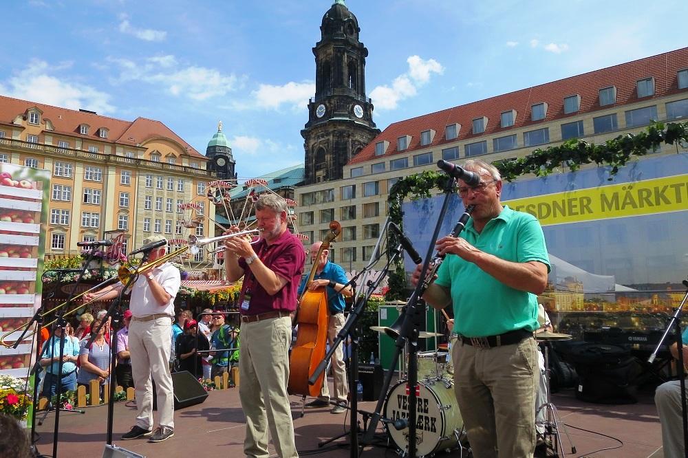 Scenen på Altmarkt